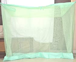 PF RECOMMENDED Cali net Mosquito Net for single bed 3*6 (Light Green)