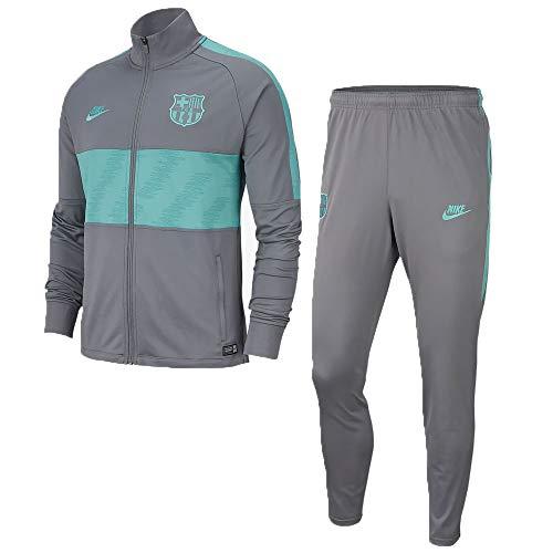Nike 2019-2020 Barcelona Dry Strike Tracksuit (Smoke Grey)