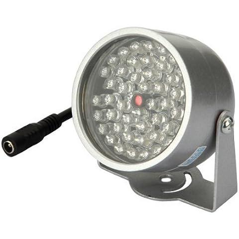 Big Bargain 48 LED Illuminatore Luce CCTV IR a raggi infrarossi Night Vision Security Camera