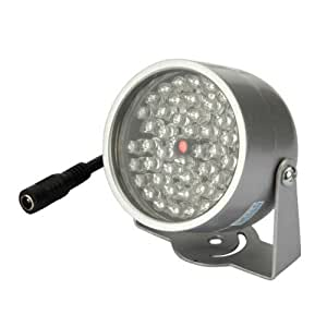 48 led licht cctv ir infrarot nachtsicht lampe f r kamera. Black Bedroom Furniture Sets. Home Design Ideas