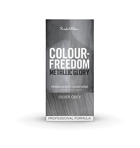 Färben Haare Metallic (Colour-Freedom Metallic Glory Silver Grey permanente)