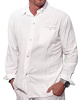 M b usa cotton white long sleeve button loop closure for Locker loop dress shirt