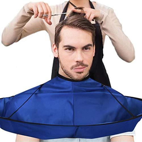 Haarschnitt Plane Friseur Haarschnitt Mantel Haar Design Schnitt Salon Haarschnitt Latzschürze schwarz (B) ()