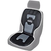 WRC 007326 cubre-asiento, color negro y Gris