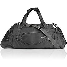 Novex Grey Travel Duffle Bag