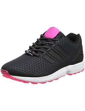 adidas Damen Zx Flux Sneaker Low Hals, Schwarz