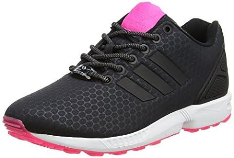 Adidas ZX Flux, Baskets Basses Femme, Noir (Core Black/Core Black/Ftwr White), 36 2/3 EU