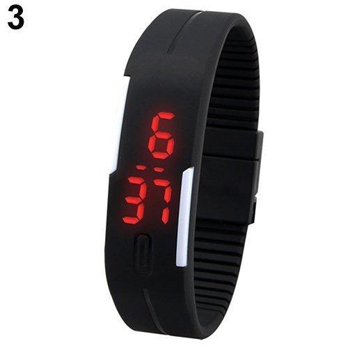 Tls Digital Black Dial Unisex Watch FT2331103