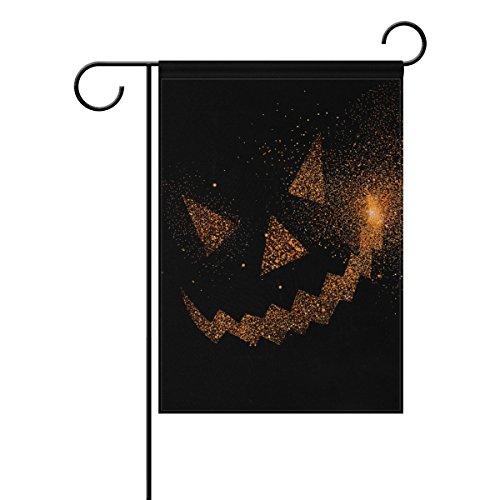 My Daily Halloween Face Jack O 'Laterne Deko doppelseitig Garten Flagge 30,5x 45,7cm