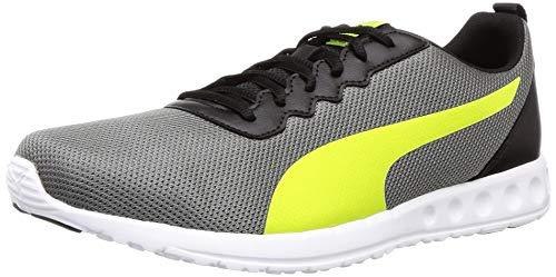 Puma Men's Carson Club Ii Idp Black-Limepunch Running Shoes-8 UK (42 EU) (9 US) (19319406_8)