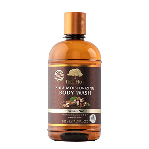 Tree Hut Shea Moisturizing Body Wash, Brazilian Nut, 17 Fluid Ounce by Tree Hut