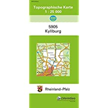 TK25 5905 Kyllburg: Topographische Karte 1:25000 (Topographische Karten 1:25000 (TK 25) Rheinland-Pfalz (amtlich) / Mehrfarbige Ausgabe)