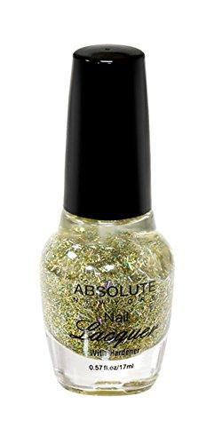 NEW YORK Vernis à ongles absolue – Gold Rain, 1 pièce
