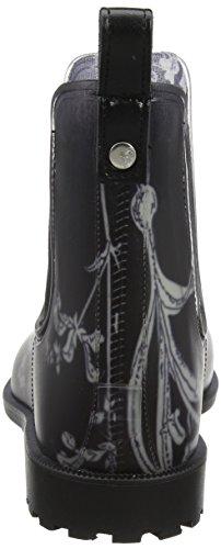 Joules Rockingham, Stivali di Gomma Donna Nero (Black Botanical)