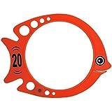 Softee 0019107 - Set 6 peces buceo, multicolor, talla S