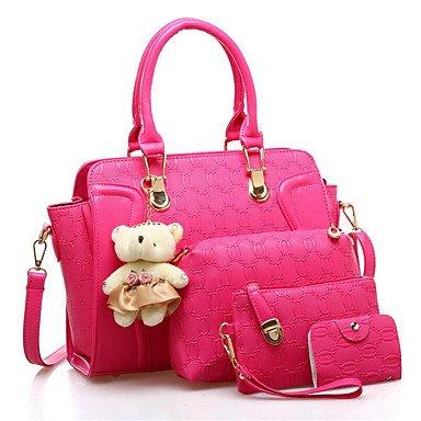 La donna pu Casual Borsa a tracolla,Ruby Blushing Pink