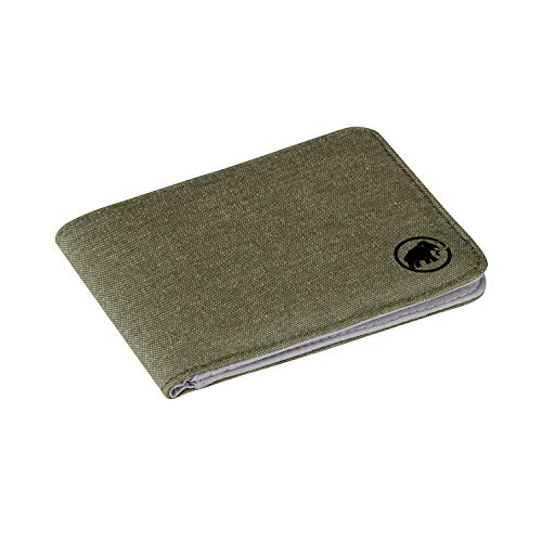 Mammut flap wallet mélange portafoglio da viaggio 10 centimeters verde (olive)