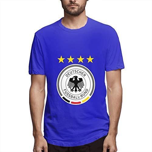 Deutschland Deutschland Logo Shirts T Männer Sport Cool T Shirt T-Shirts Für Herrenmode Casual Blau -