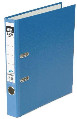 ELBA 100022605 veredelter Kunststoff-Ordner rado brillant 5 cm schmal DIN A4 blau