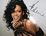 THEPRINTSHOP Photo dédicacée par Rihanna en édition limitée + autographe imprimée au Certificat.