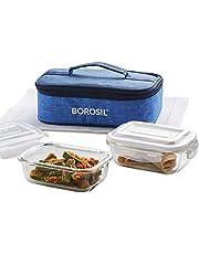 Borosil Prime Glass Lunch Box