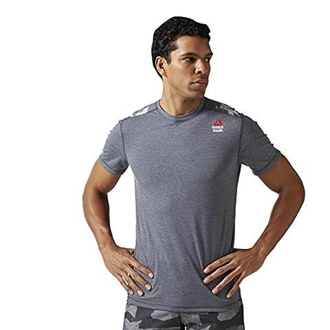Reebok Men's Crossfit Burnout Sol T-Shirt - Lead, Large