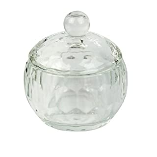 Hotsell Clear Nail Art Acrylic Crystal Glass Dappen Dish Liquid Powder Container (Unique Spherical design)