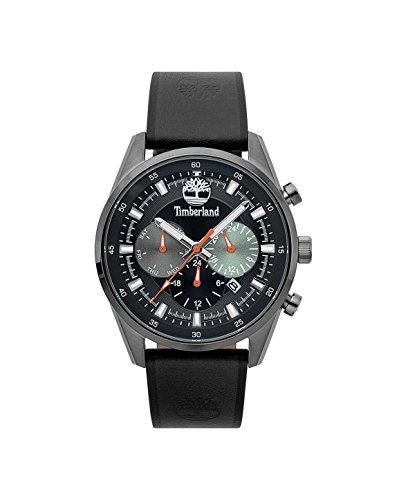 Timberland Herren Multi Zifferblatt Quarz Uhr mit Leder Armband TBL.15417JSU/02