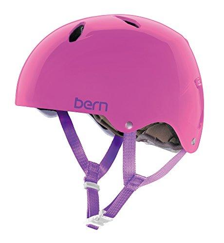 Mädchen Für Snowboard Helm (Bern Mädchen Helm Diabla EPS Thin Shell, klar/pink, S, BG04ETPNK61)