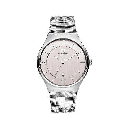 DANISH DESIGN Reloj Analógico para Hombre de Cuarzo con Correa en Acero Inoxidable IQ62Q1240