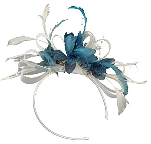 white-and-aqua-net-hoop-feather-hair-fascinator-headband-wedding-royal-ascot-races