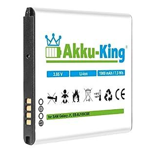 Akku-King 20112570Li-ion 1900mAh 70574505V Battery Rechargeable-BATTERY (1900mAh, Lithium-Ion (Li-ion), 3.85V 2WH, Black, White)