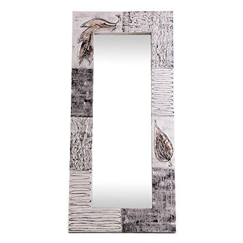 Lohoart L-1221-1 - Espejo Sobre Lienzo Pintado Artesanal