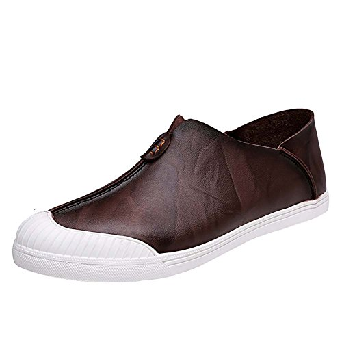 WTUS Docksides, Loisirs Angleterre Chaussures Bateau Homme marron3