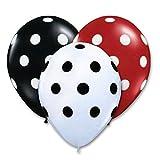 Balloon Junction WHITE , RED & BLACK Pol...