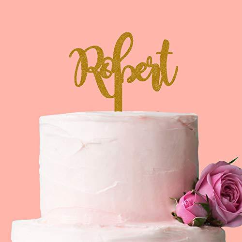 Personalisierte Namen Cake Topper, perfekt für einen Geburtstag oder besonderen Anlass, für, dass jemand ganz besonderen.