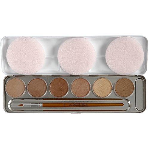 paleta-de-colores-de-maquillaje-a-base-de-agua-skin-colours-6color