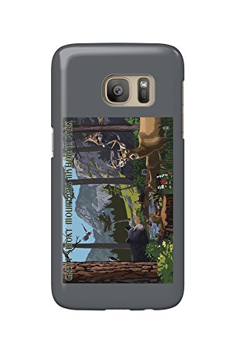 Great Smoky Mountains National Park - Wildlife Utopia (Galaxy S7 Cell Phone Case, Slim Barely There) (Smoky Mountain Wildlife)