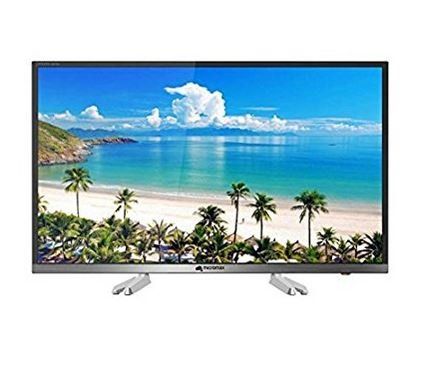 Micromax 81.3 cm (32 inches) Canvas S-32 HD Ready LED Smart TV (Black) + Tata Sky HD Set Top Box with 1 Month Subscription  available at amazon for Rs.21399