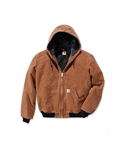 Quilt Flannel Lined Sandstone Active Jacket Carhartt Carhartt Braun