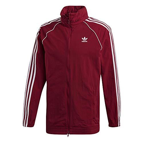 adidas Herren SST Windbreaker Jacke, Collegiate Burgundy, L -