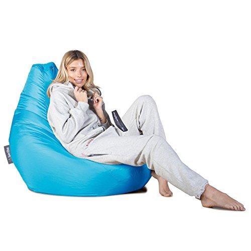 Highback Gaming Sitzsack Loungesessel - Aqua