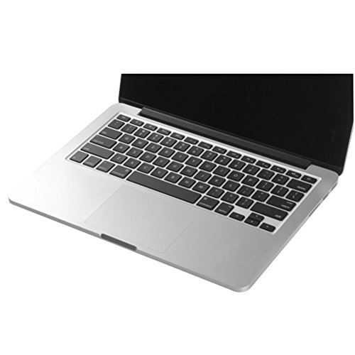 Rest Touchpad (Zhhlinyuan Staubschutzhaube 1pcs Silver Palm Rest Cover Skin with Touchpad Protector für Macbook Pro 13