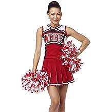 YipGrace Mujer Colegio Béisbol Animadora Outfit Uniforme Disfraz Como Imagen