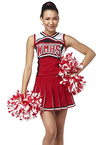 YipGrace Femme École Cheerleaders Costume Performance Wear Deguisement YipGrace