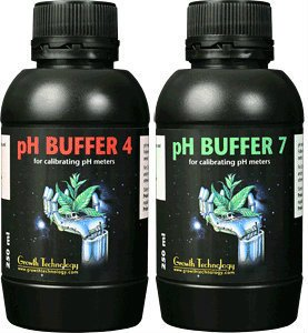 Growth Technology - Buffer 4 & 7 - 250 ml