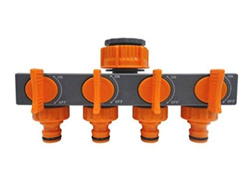 Generic qy-uk4-16feb-20-1493* 1* * 3403* * adattatore Garden Hut off scarico rubinetto 4vie SH 4WAY spegnimento LD Tap Connector split R split rubinetto valvola del tubo flessibile e connettore split