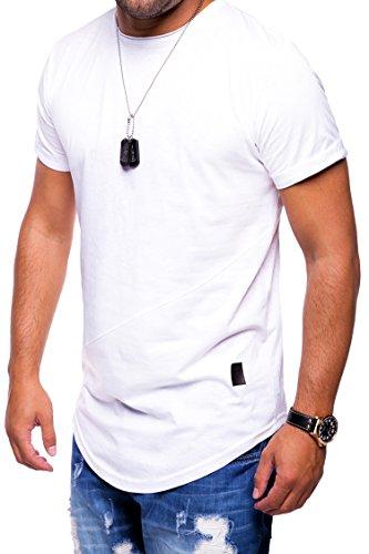 MT Styles Oversize T-Shirt C-9020 Weiß
