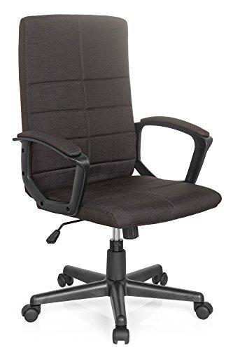 Bürostuhl STARTEC CL200 Netz-Stoff Schwarz, ergonomischer Schreibtisch-Stuhl mit Armlehnen, Drehstuhl zum Arbeiten & Relaxen, Home-Office, Büro-Sessel, Gaming, Computer-Stuhl, X-XL MyBuero 725202 (Office Home Schreibtisch)
