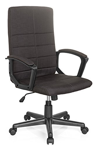 Bürostuhl STARTEC CL200 Netz-Stoff Schwarz, ergonomischer Schreibtisch-Stuhl mit Armlehnen, Drehstuhl zum Arbeiten & Relaxen, Home-Office, Büro-Sessel, Gaming, Computer-Stuhl, X-XL MyBuero 725202 - Stuhl Büro Computer